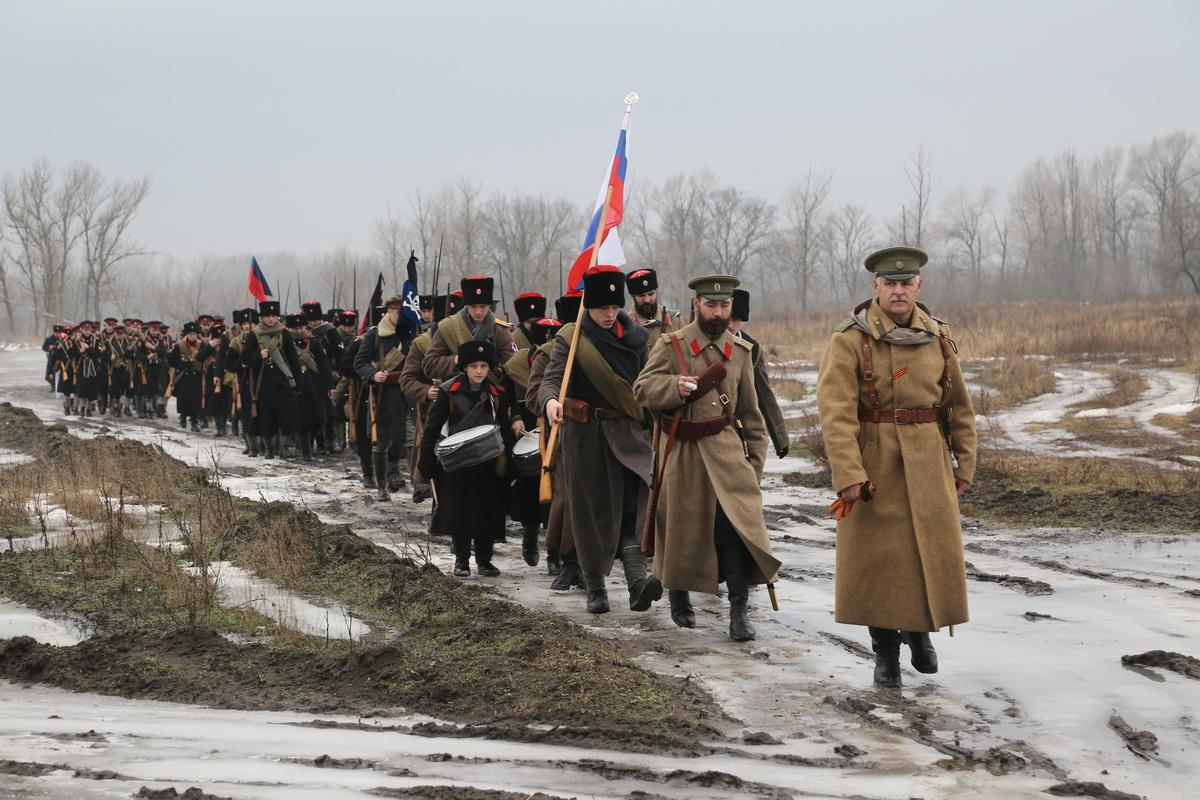 Реконструкция Бой отряда Черницова День третий- 0157