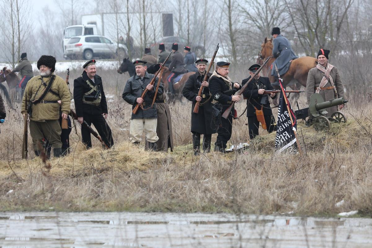 Реконструкция Бой отряда Черницова День третий- 0192