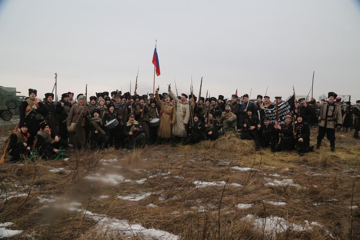 Реконструкция Бой отряда Черницова День третий- 0443