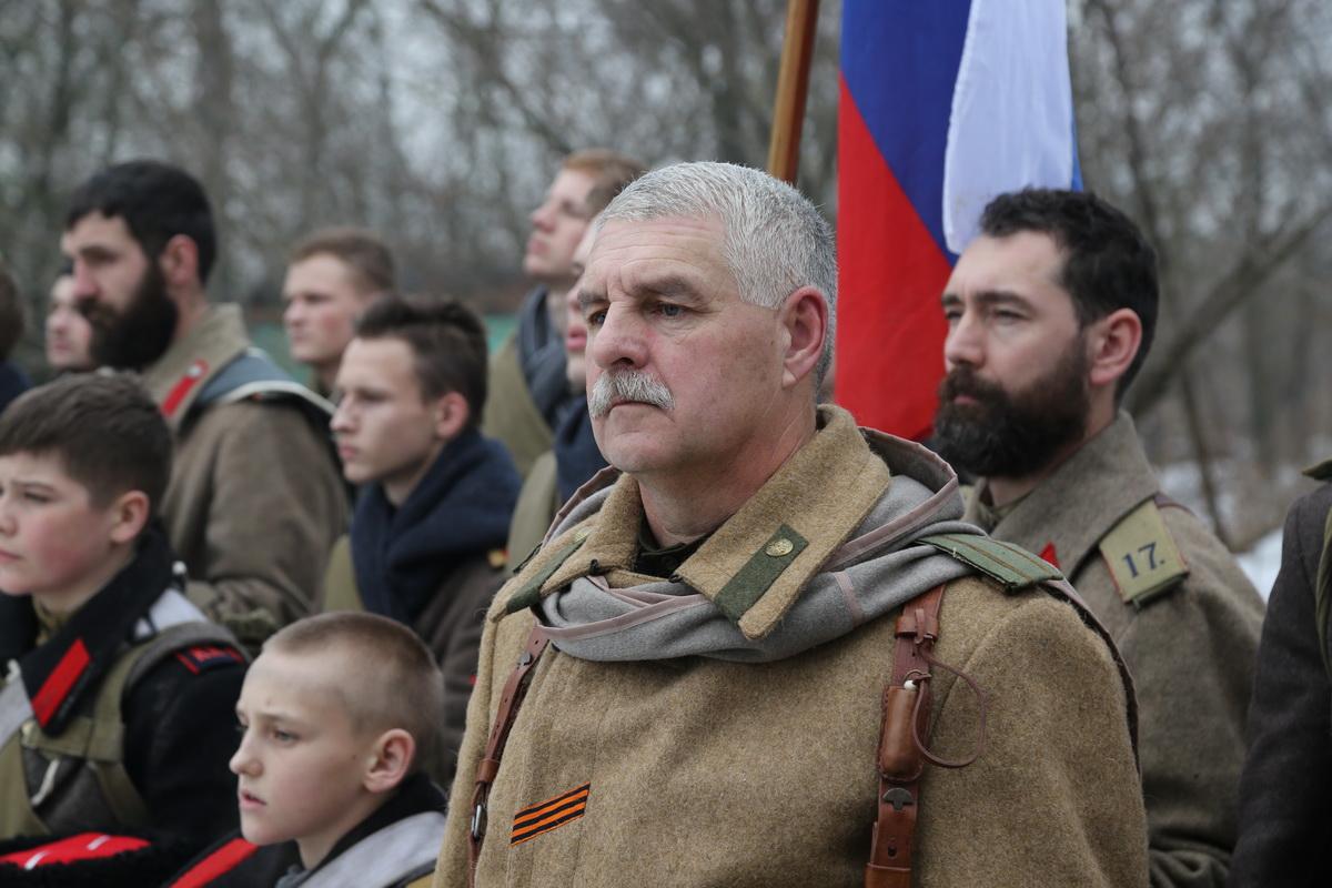 Реконструкция Бой отряда Черницова День третий- 0546