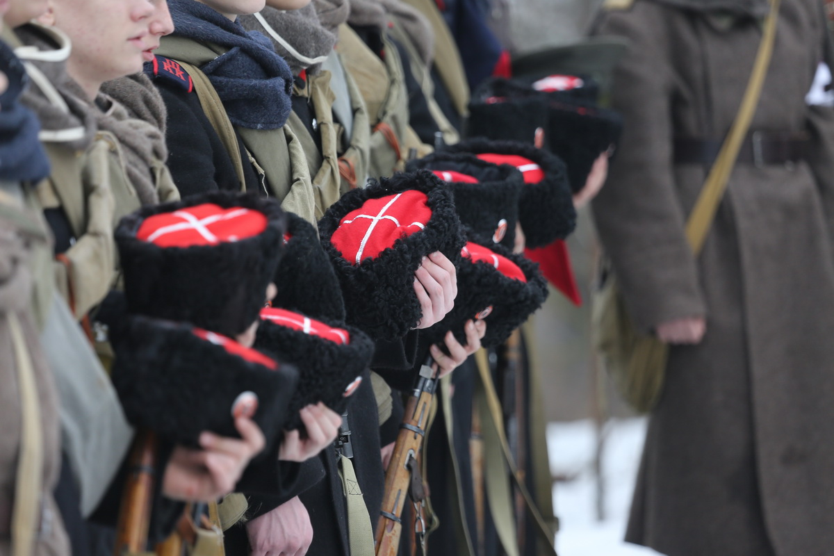 Реконструкция Бой отряда Черницова День третий- 0579