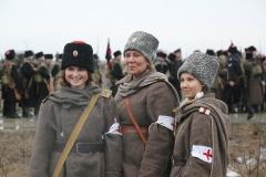 Реконструкция Бой отряда Черницова День третий- 0499