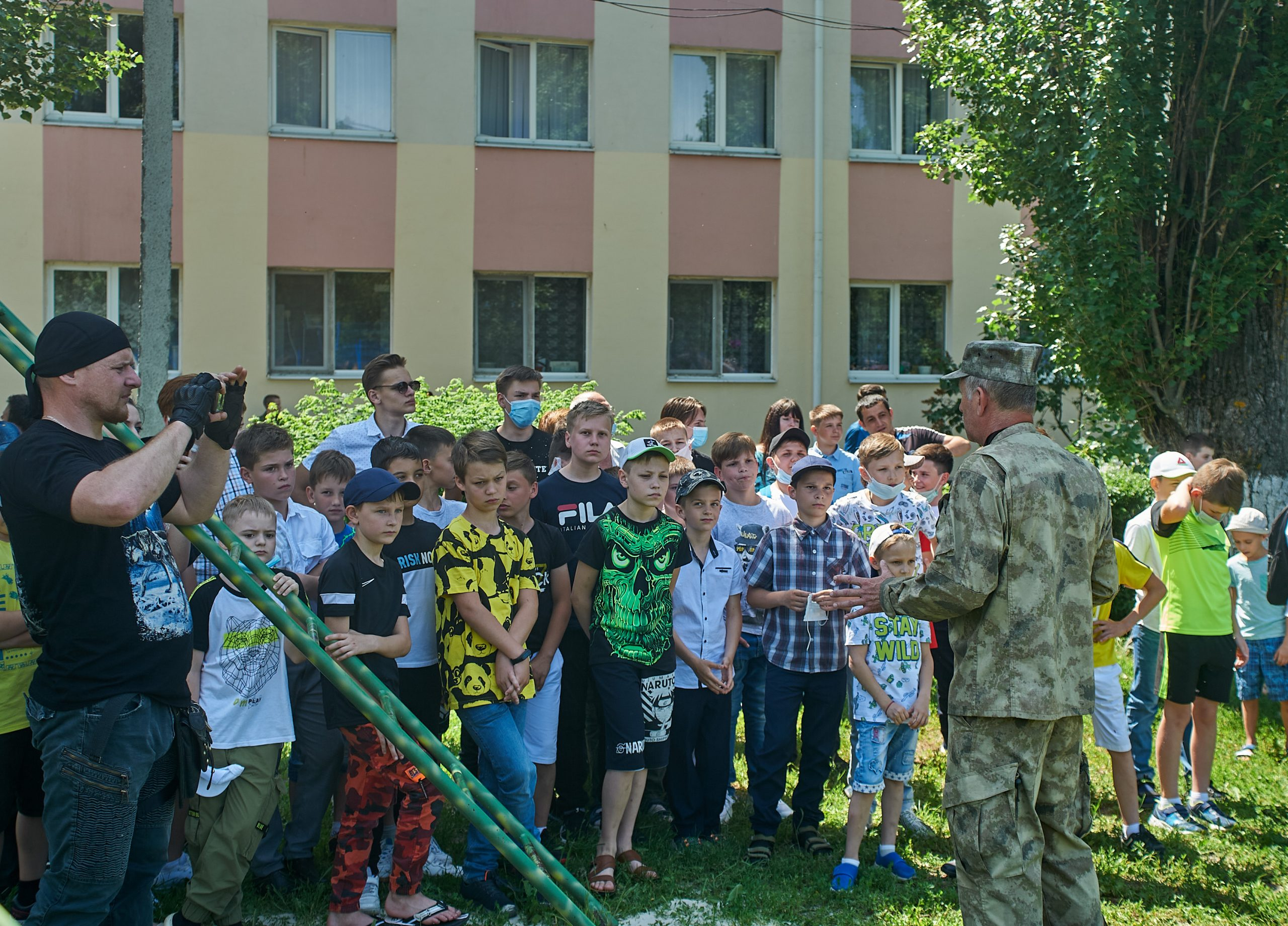 29 мая 2021 года в кадетском корпусе прошел День открытых дверей