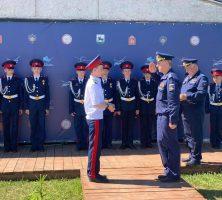 Кадеты «Шахтинского генерала Я.П. Бакланова казачьего кадетского корпуса» проходят первоначальную летную подготовку в ЮПШ