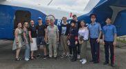 Посещение Шахтинского авиационно ремонтного завод ДОСААФ