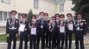 «Серебро» взяли кадеты «Шахтинского генерала Я.П. Бакланова казачьего кадетского корпуса»