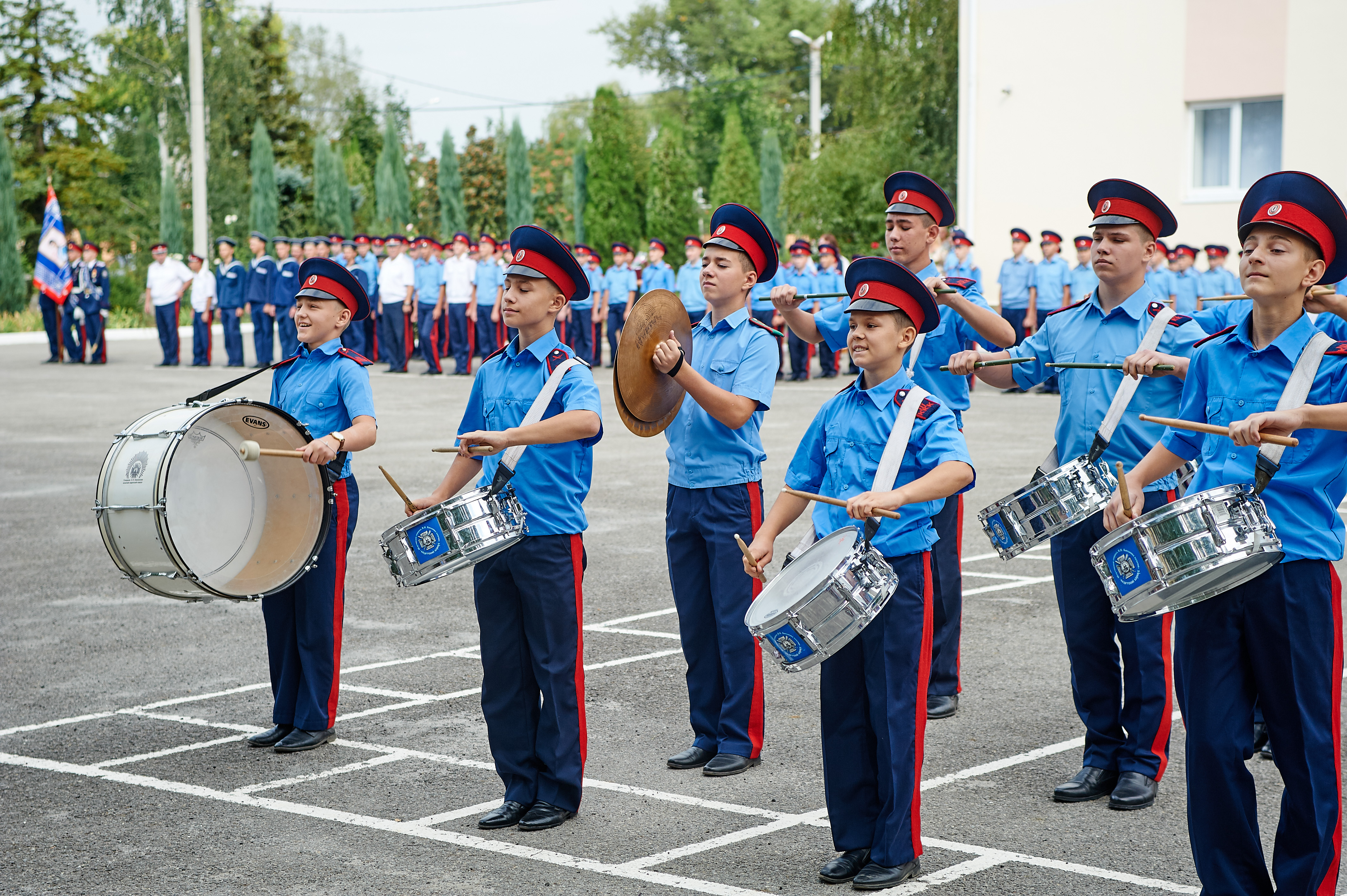 Шахтинский казачий кадетский корпус в День знаний 2019